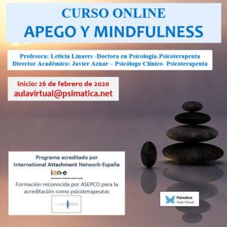 Curso online: Apego y mindfulness